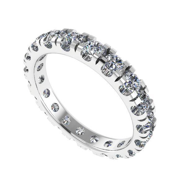 Ladies Custom Eternity Diamond Ring Rialto Jewelry San Antonio, TX
