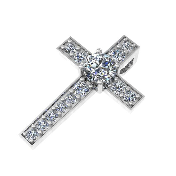Custom Ladies Diamond Cross Rialto Jewelry San Antonio, TX