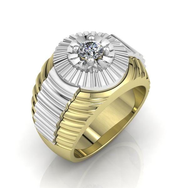 Custom Men's Fancy Ring Rialto Jewelry San Antonio, TX