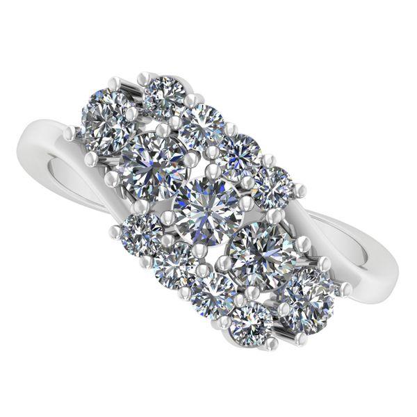 Custom Ladies Fancy Ring Rialto Jewelry San Antonio, TX