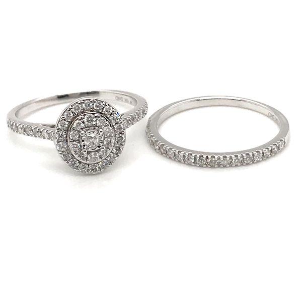 Diamond Bridal Set Rialto Jewelry San Antonio, TX