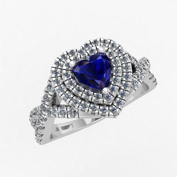 Ladies Heart Shape Engagement Ring Rialto Jewelry San Antonio, TX