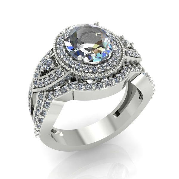 Custom Engagement Ring Set Rialto Jewelry San Antonio, TX
