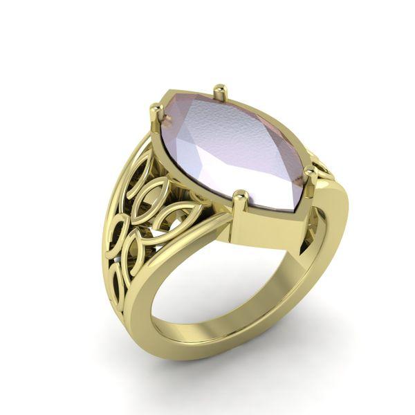 Custom Fancy Ring Rialto Jewelry San Antonio, TX