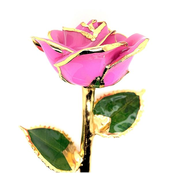 I Adore Mom Pink 24k Gold Dipped Rose Robert Irwin Jewelers Memphis, TN