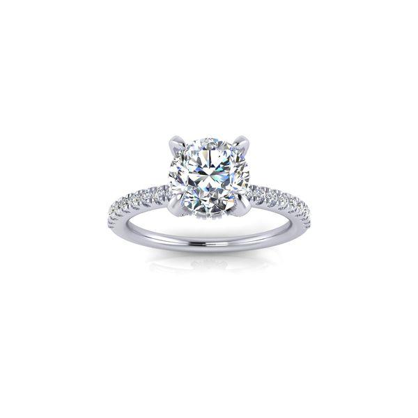 Shared Prong  Robert Irwin Jewelers Memphis, TN