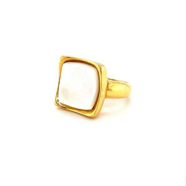 mother of pearl designer ring Roberts Jewelers Meadville, PA