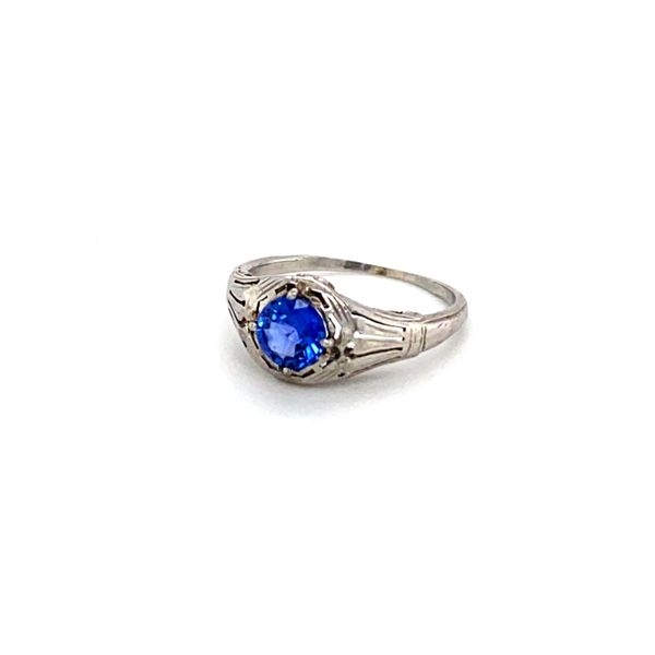 tanzanite art deco ring Roberts Jewelers Meadville, PA