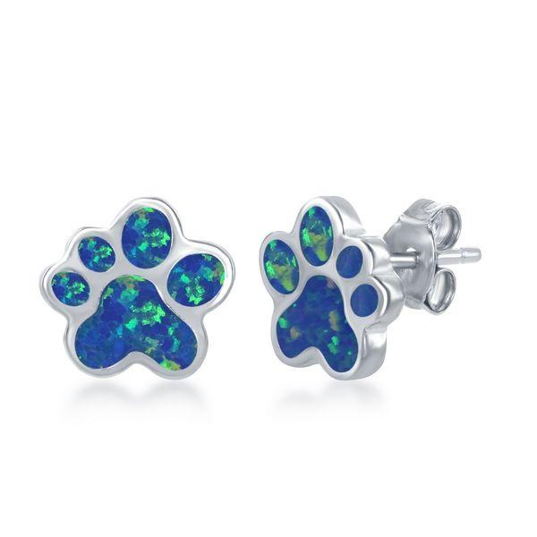 Paw earrings Roberts Jewelers Meadville, PA