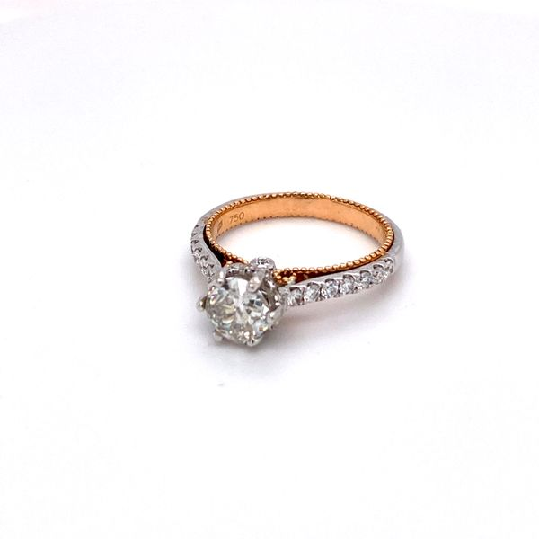 ladies euro cut diamond ring Roberts Jewelers Meadville, PA