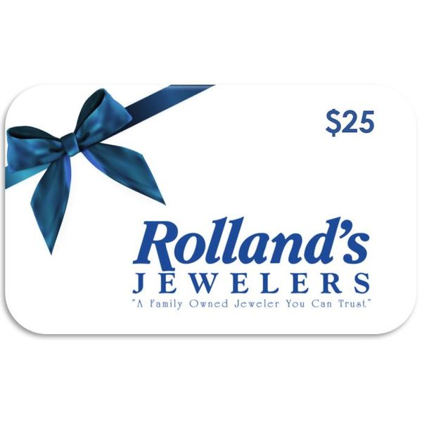 Gift Certificate Rolland's Jewelers Libertyville, IL