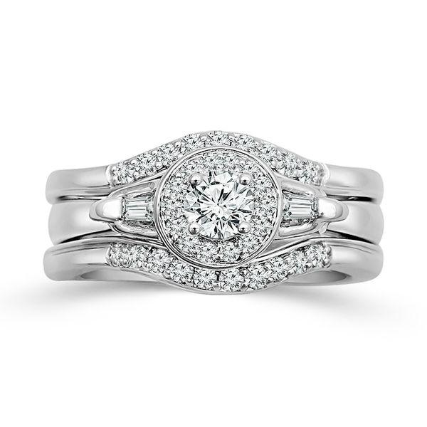 Diamond Bridal Set Score's Jewelers Anderson, SC