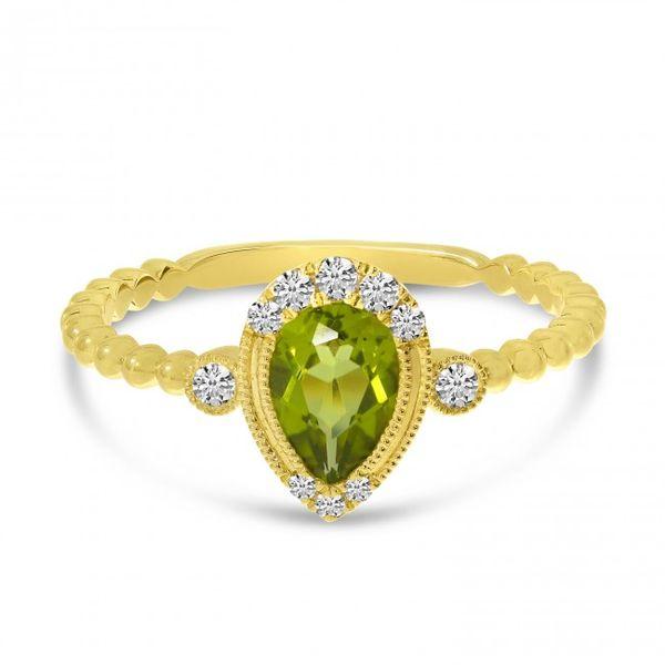 Peridot and Diamond Ring Score's Jewelers Anderson, SC