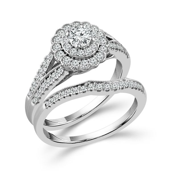 Diamond Bridal Set Score's Jewelers Anderson, SC