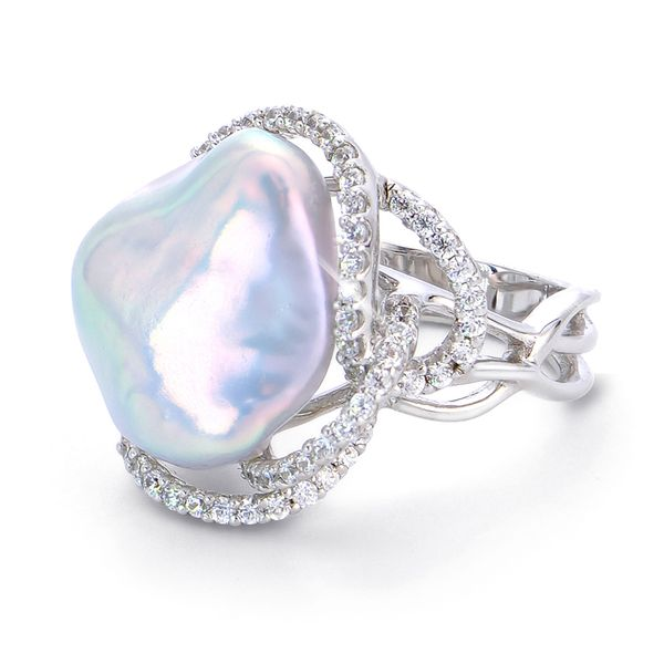 Baroque Pearl Ring Score's Jewelers Anderson, SC