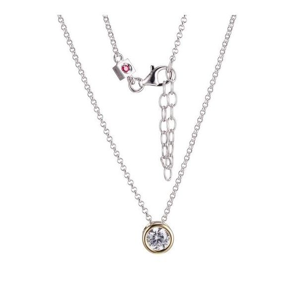 Sterling Silver  Solitaire Necklace Score's Jewelers Anderson, SC