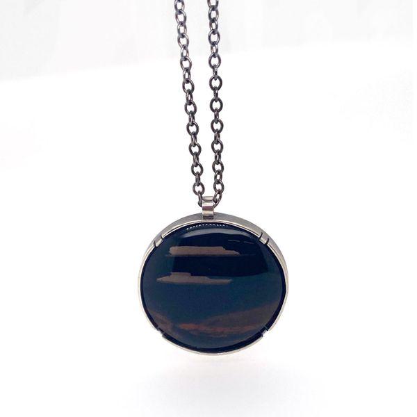 Mahogany Obsidian Necklace Spicer Merrifield Saint John,