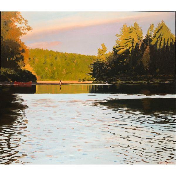 Evening on the Caines Spicer Merrifield Saint John,