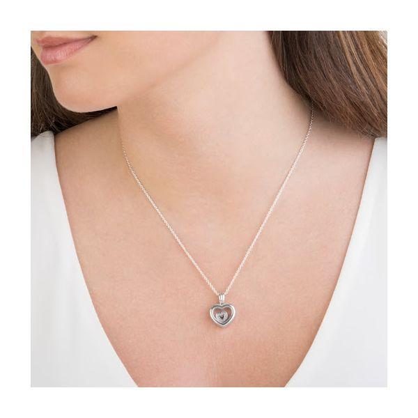PANDORA Floating Heart Locket Image 2 SVS Fine Jewelry Oceanside, NY