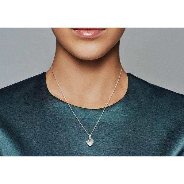 Pandora Heart Fan Pendant Image 2 SVS Fine Jewelry Oceanside, NY