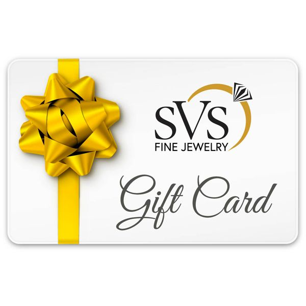The SVS Fine Jewelry Gift Card SVS Fine Jewelry Oceanside, NY