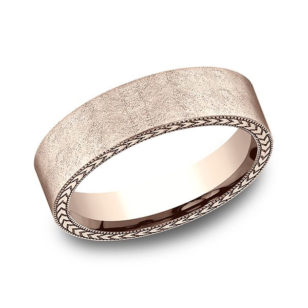 Comfort-Fit Design Wedding Band Image 3 Texas Gold Connection Greenville, TX