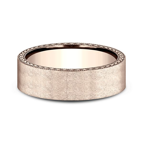 Comfort-Fit Design Wedding Band Texas Gold Connection Greenville, TX