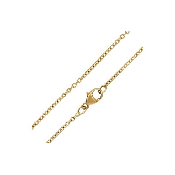 1.5mm Gold Chain - 18 inch The Hills Jewelry LLC Worthington, OH
