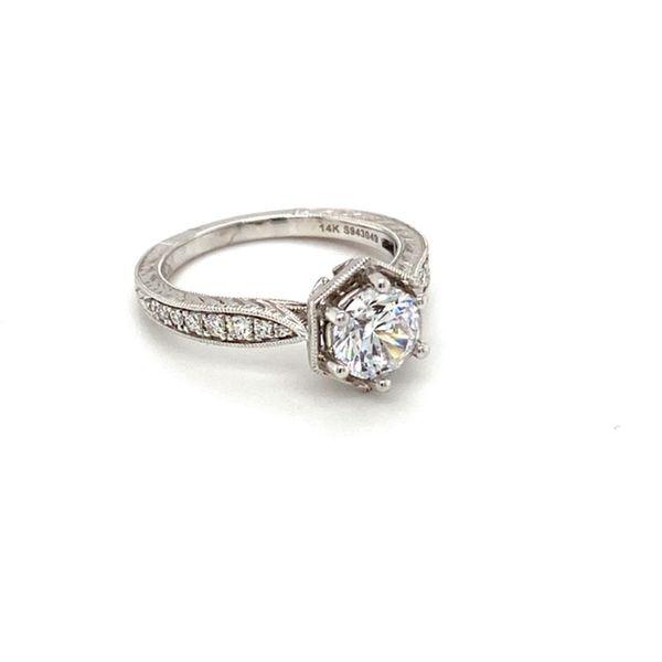Solitaire Engagement Ring Setting Image 2 Toner Jewelers Overland Park, KS
