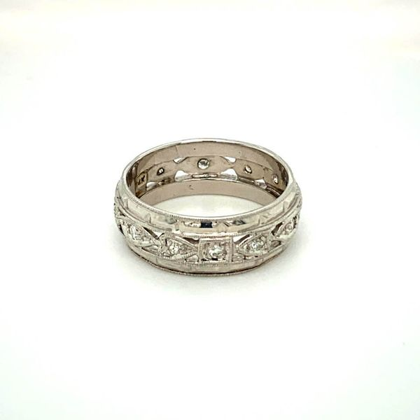 Vintage Diamond Wedding Band Toner Jewelers Overland Park, KS