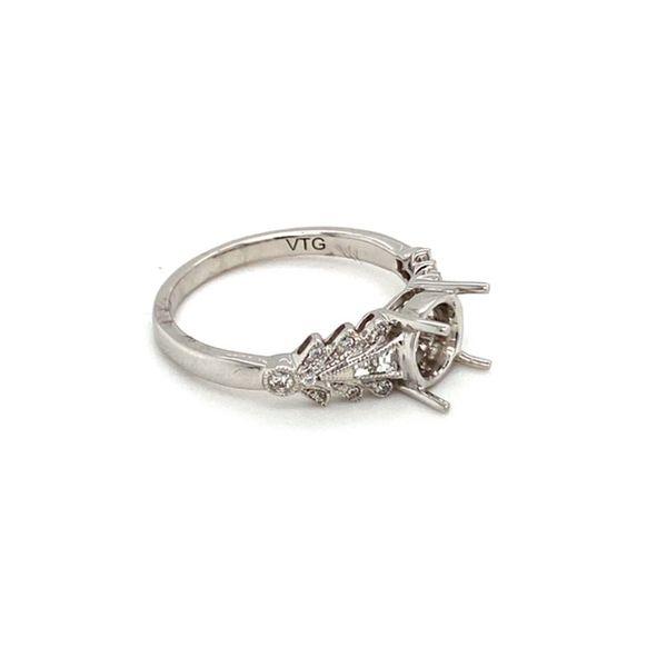 Engagement Ring Mount Setting Image 4 Toner Jewelers Overland Park, KS