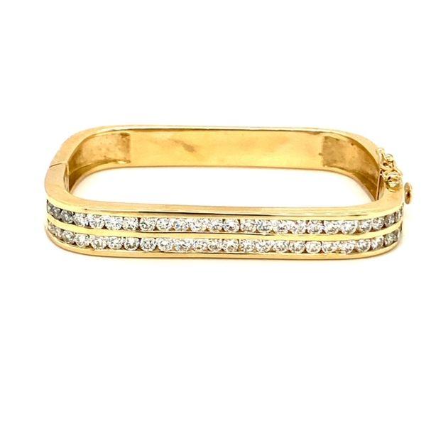 Estate Square Diamond Bracelet Image 2 Toner Jewelers Overland Park, KS