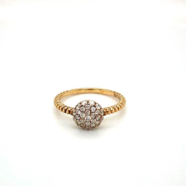 Estate Diamond Pave Ring Toner Jewelers Overland Park, KS