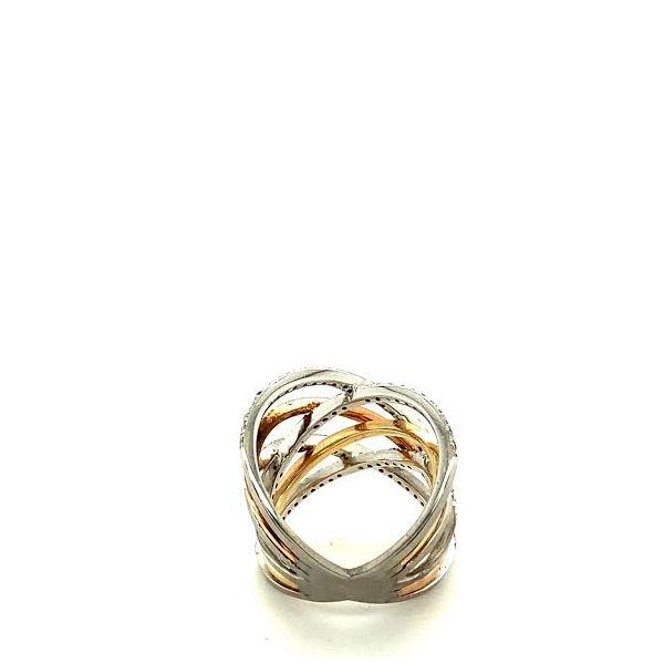Tri-Gold Diamond Ring  Image 4 Toner Jewelers Overland Park, KS