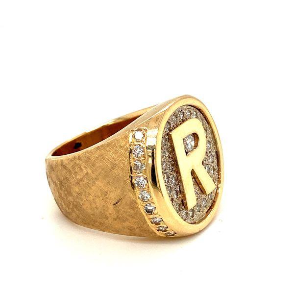 "Estate ""R"" Ring Image 3 Toner Jewelers Overland Park, KS"