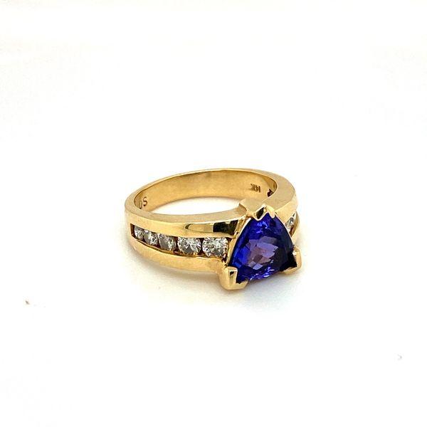 Estate Tanzanite Ring Image 2 Toner Jewelers Overland Park, KS