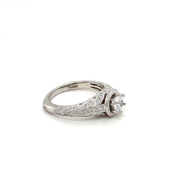 Engagement Ring Setting with Milgrain Image 3 Toner Jewelers Overland Park, KS
