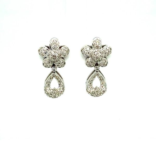 Lady's Estate Diamond Earrings Toner Jewelers Overland Park, KS