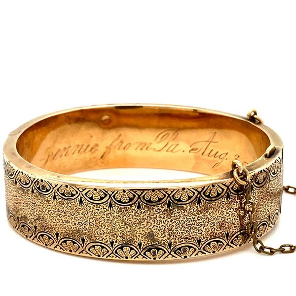 Antique Gold Bangle from 1887 Toner Jewelers Overland Park, KS