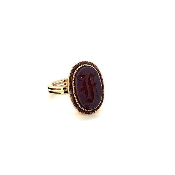 Estate Initial Ring  Image 3 Toner Jewelers Overland Park, KS