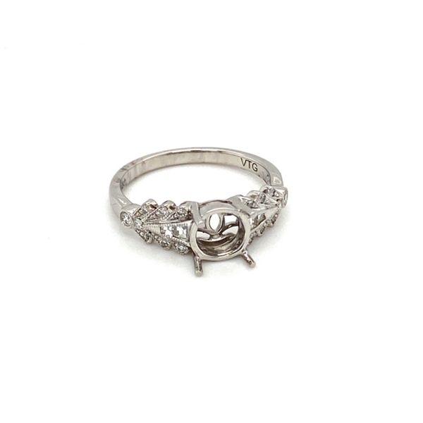 Engagement Ring Mount Setting Image 2 Toner Jewelers Overland Park, KS