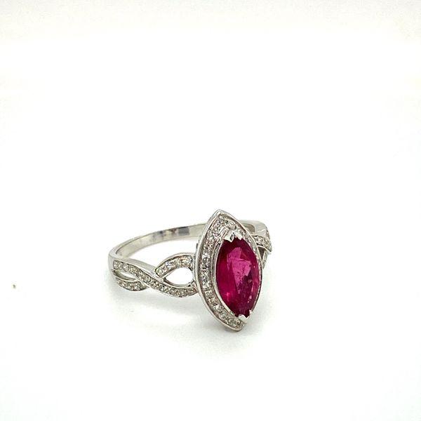 Estate Tourmaline Ring Image 2 Toner Jewelers Overland Park, KS