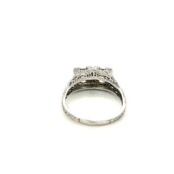Estate Vintage Diamond Ring Image 4 Toner Jewelers Overland Park, KS