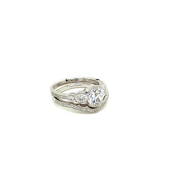 Simon G. Diamond Ring Set Image 4 Toner Jewelers Overland Park, KS