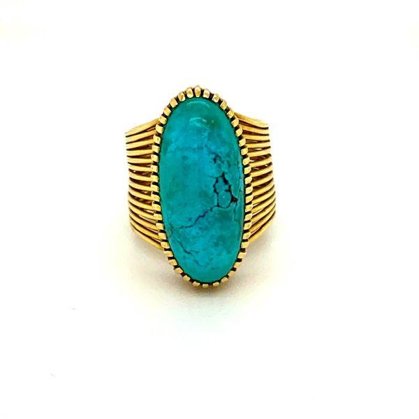 Lady's Estate Turquoise Ring Toner Jewelers Overland Park, KS