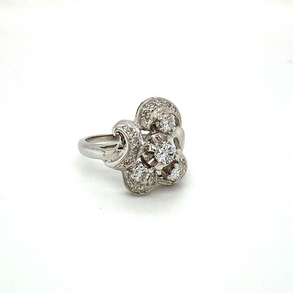 Vintage Estate Diamond Ring Image 3 Toner Jewelers Overland Park, KS