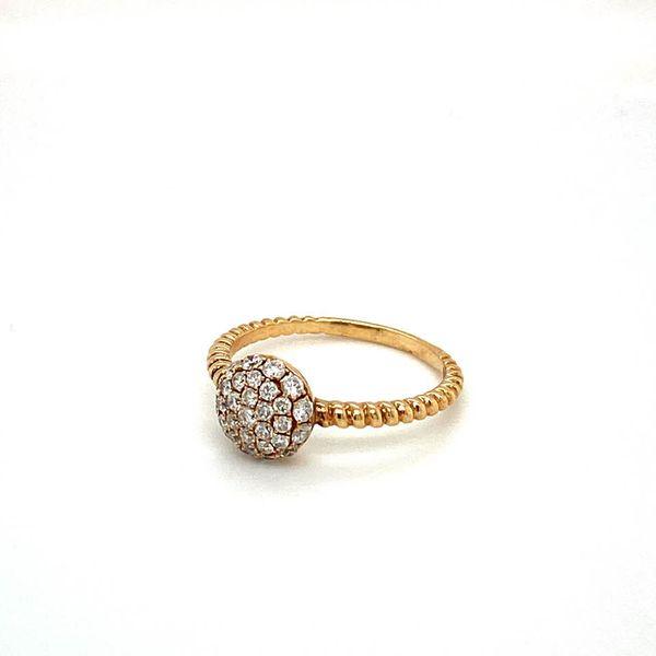 Estate Diamond Pave Ring Image 2 Toner Jewelers Overland Park, KS