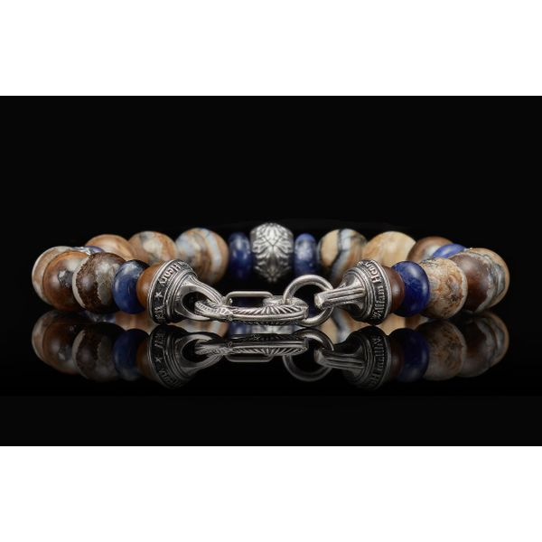 Woolly Mammoth Men's Bead Bracelet Image 5 Toner Jewelers Overland Park, KS