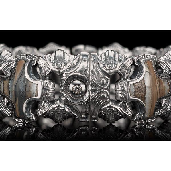 Aleksius Woolly Mammoth Tooth Men's Bracelet Image 4 Toner Jewelers Overland Park, KS