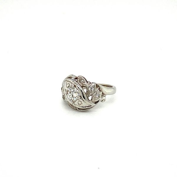 Estate Art Nouveau Diamond Ring  Image 2 Toner Jewelers Overland Park, KS